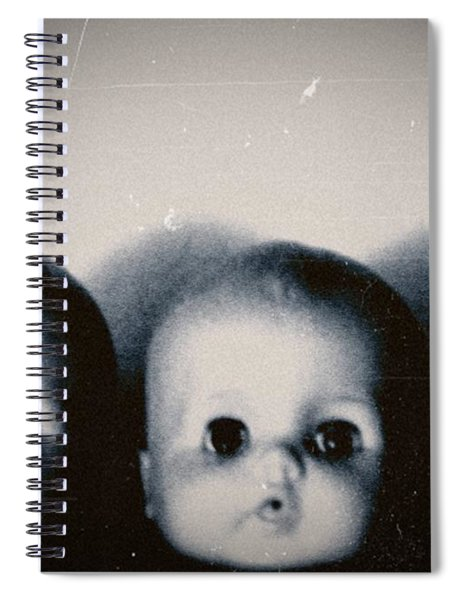 Spooky Doll Heads Spiral Notebook