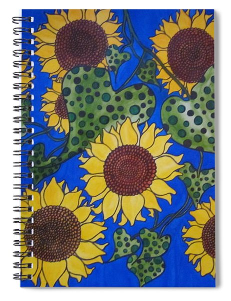 Spot On Spiral Notebook