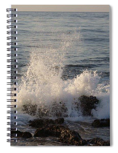 Spray Over Stones Spiral Notebook