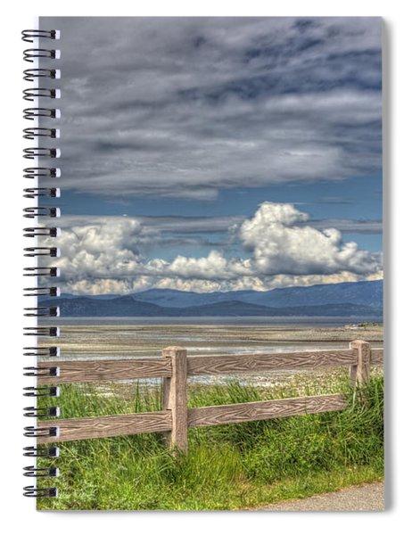 Spring Afternoon Spiral Notebook