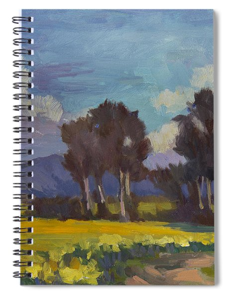 Spring And Daffodils Spiral Notebook