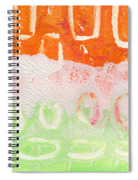 Spring Flower Market- Abstract Painting Spiral Notebook