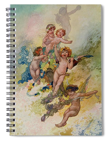 Spring From The Seasons Commissioned For The 1920 Pears Annual Spiral Notebook