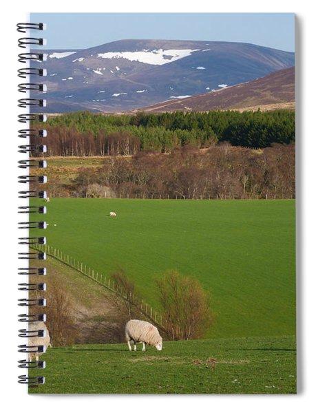 Spring In Glenlivet Spiral Notebook