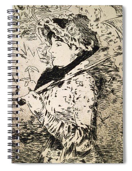 Spring   Jeanne Spiral Notebook