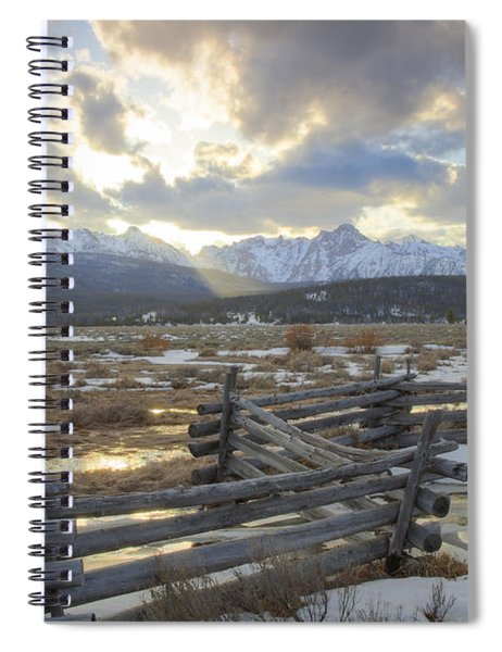 Spring Kiss Spiral Notebook