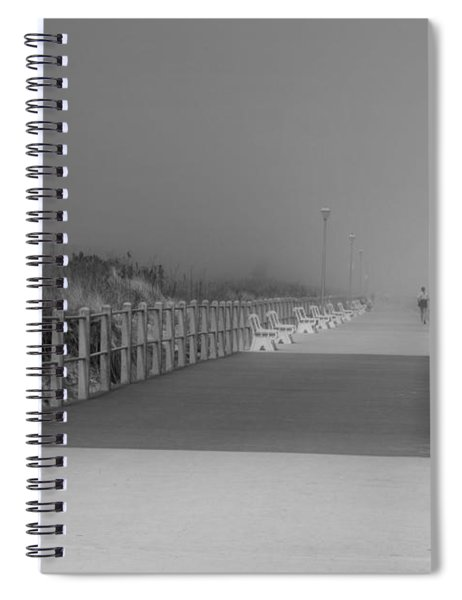 Spring Lake Boardwalk - Jersey Shore Spiral Notebook