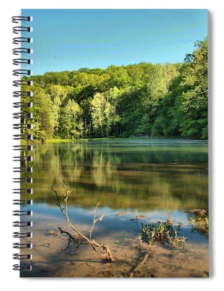 Spring Mill Lake Spiral Notebook