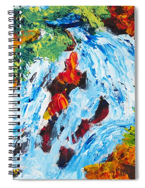Spring Run-off 2 Spiral Notebook