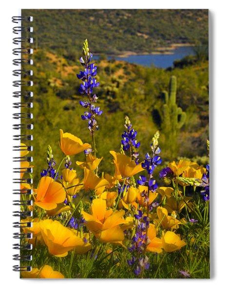 Spring Southwest Style  Spiral Notebook
