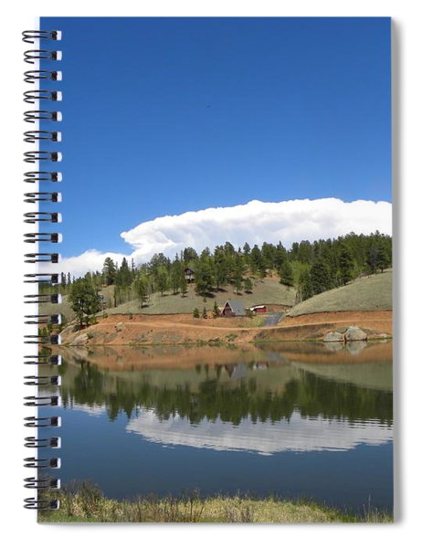 Ridge Over Burgess Res Divide Co Spiral Notebook