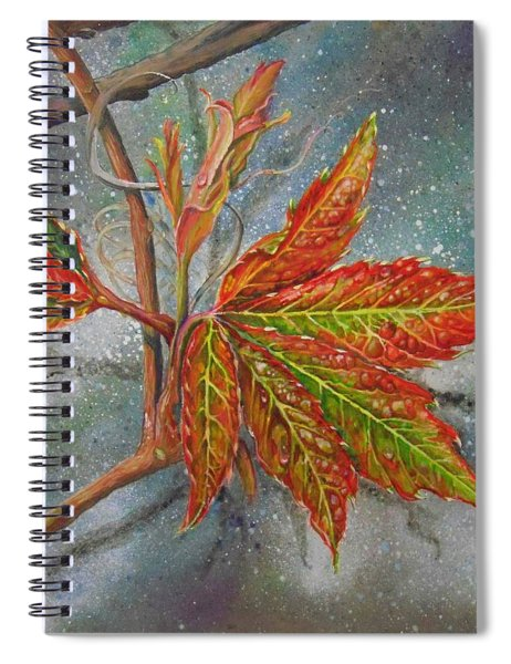 Spring Virginia Creeper Spiral Notebook
