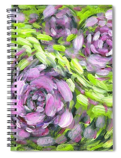 Spring Whirl Spiral Notebook