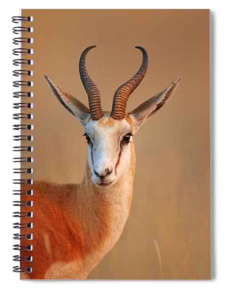 Springbok  Portrait Spiral Notebook