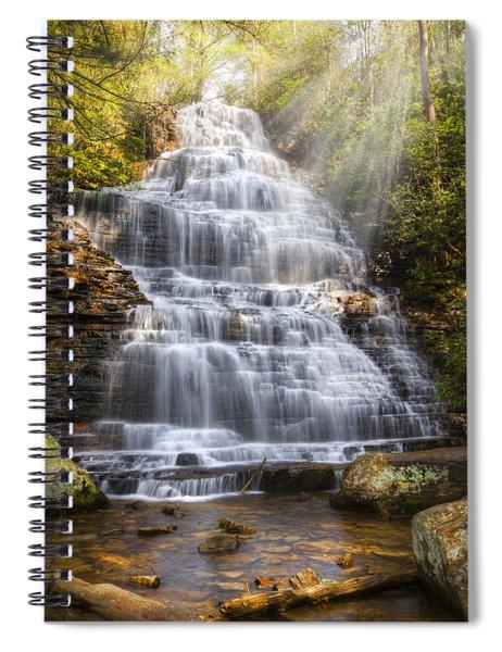 Springtime At Benton Falls Spiral Notebook