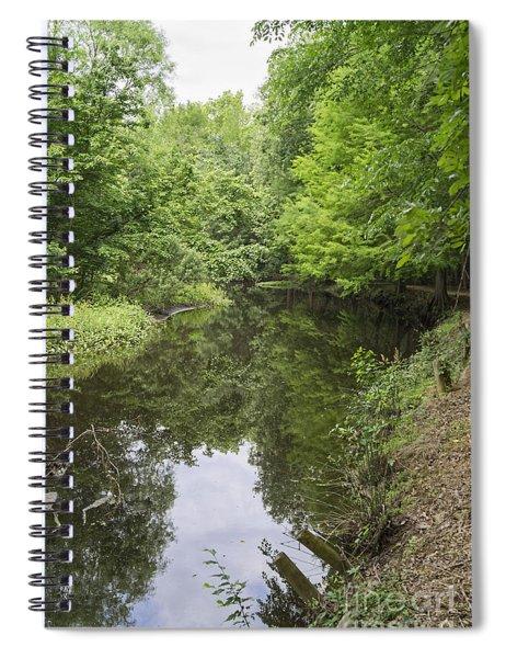 Springtime On Jeffries Creek Spiral Notebook