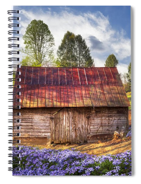 Springtime On The Farm Spiral Notebook
