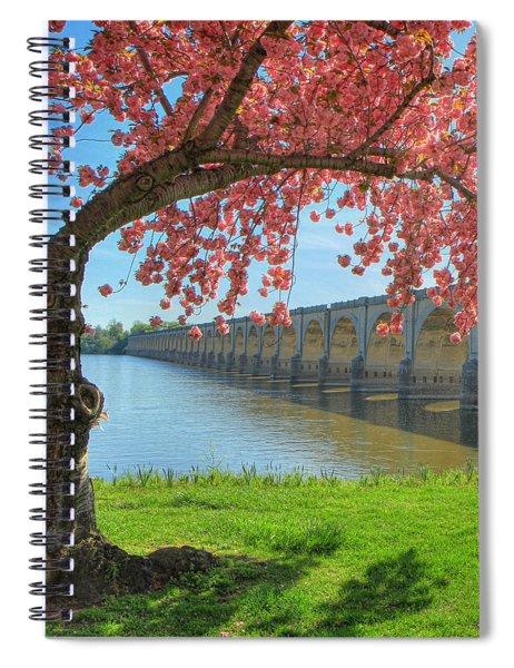 Springtime On The River Spiral Notebook