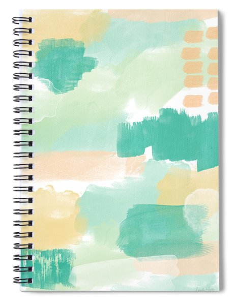 Spumoni- Abstract Painting Spiral Notebook