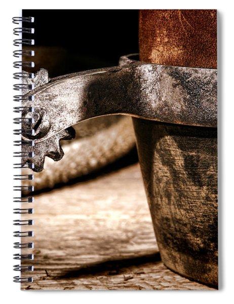 Spur Spiral Notebook by Olivier Le Queinec