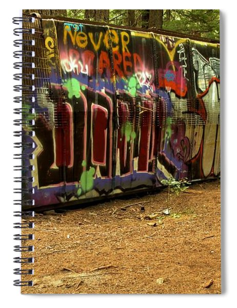 Squamish Train Wreck Spiral Notebook