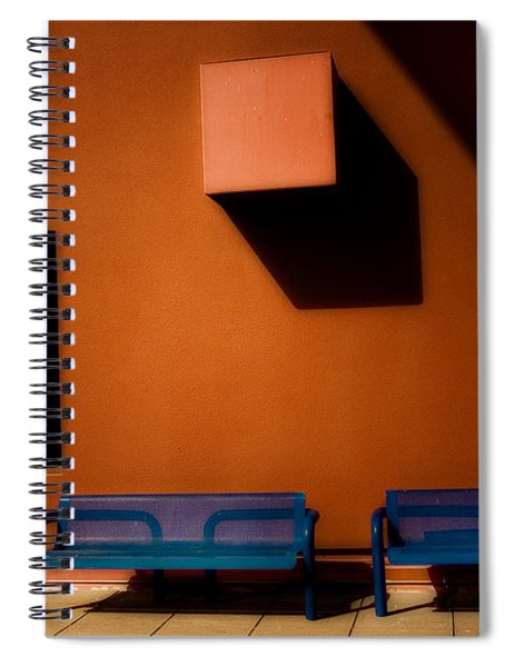 Square Shadows Spiral Notebook