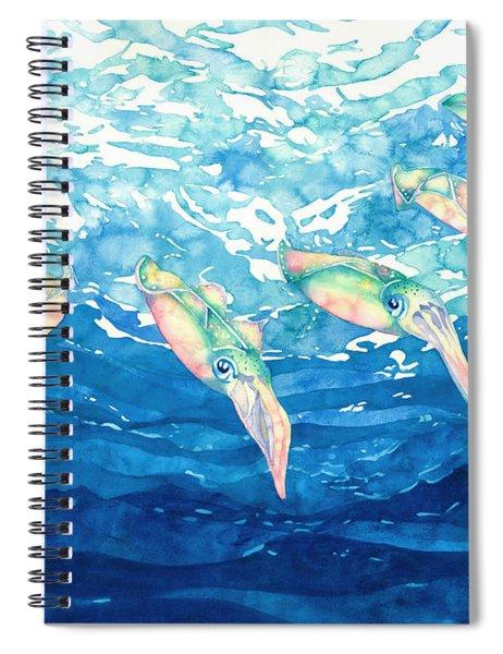 Squid Ballet Spiral Notebook
