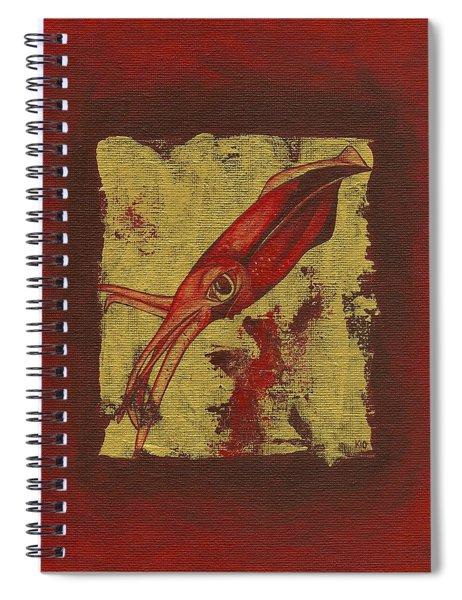 Squid Spiral Notebook