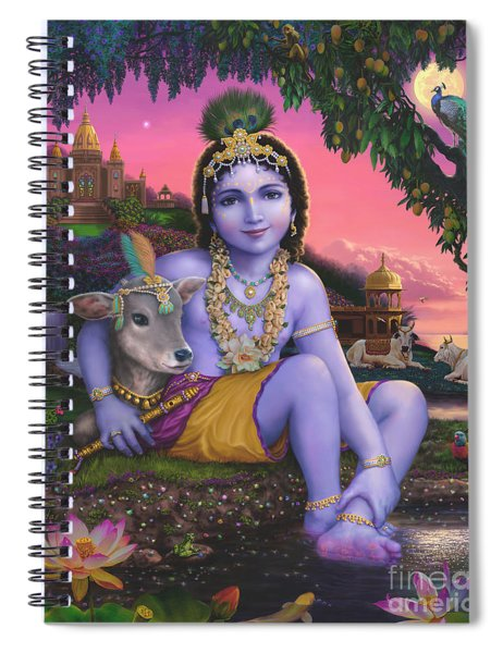 Sri Krishnachandra Spiral Notebook