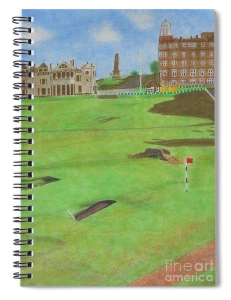 St. Andrews Spiral Notebook