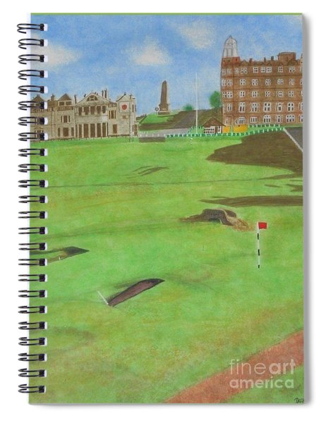 St. Andrews Spiral Notebook