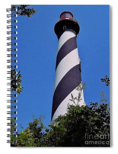 St Augustine Lighthouse Spiral Notebook