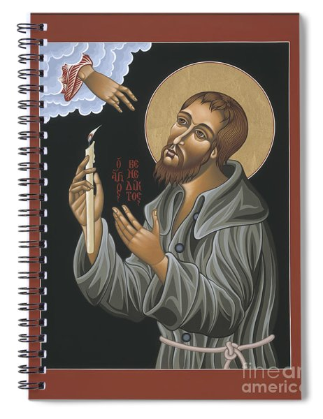 St. Benedict Joseph Labre 062 Spiral Notebook