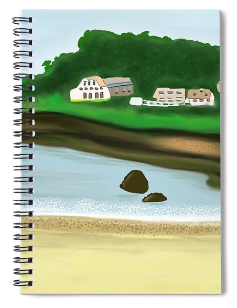 A Peaceful Life  Spiral Notebook