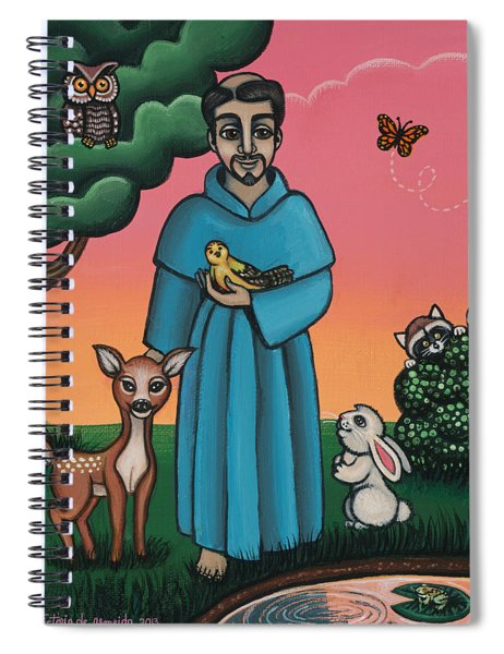 St. Francis Animal Saint Spiral Notebook