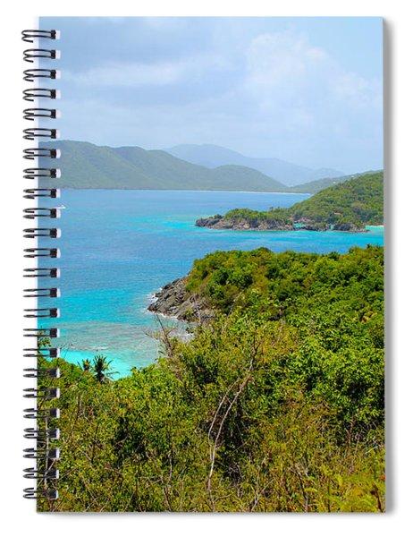 St John Beaches Spiral Notebook