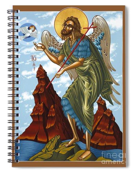 St. John The Forerunner Also The Baptist 082 Spiral Notebook