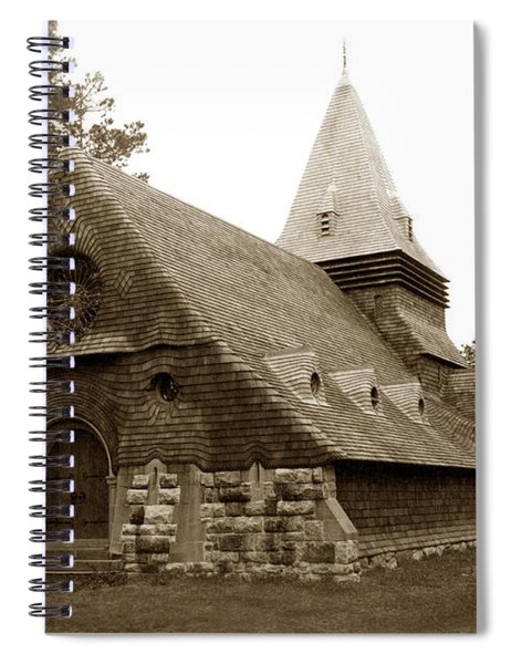 St. Johns Chapel Del Monte Monterey California 1895 Spiral Notebook