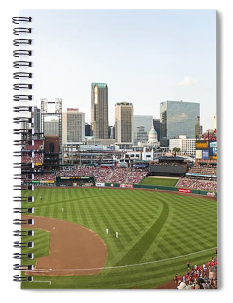 St. Louis Cardinals Pano 1 Spiral Notebook
