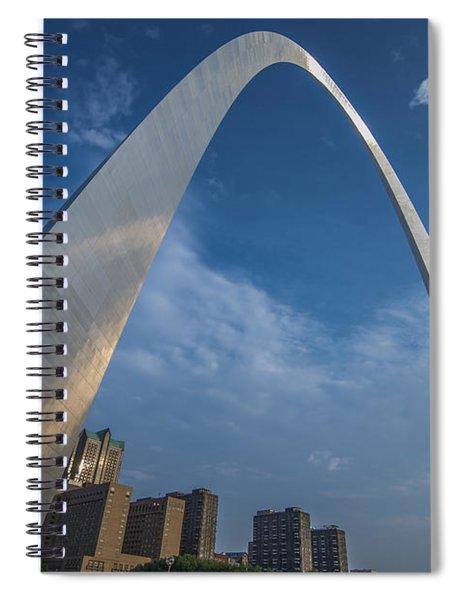 St. Louis Gateway Arch Sunrise Spiral Notebook