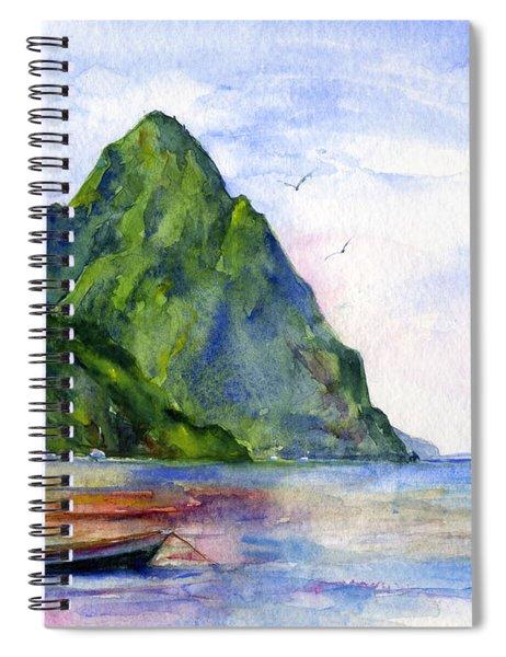 St. Lucia Spiral Notebook