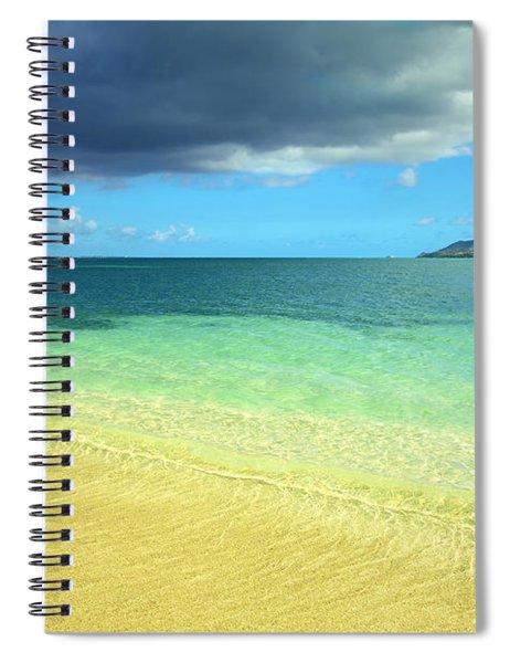 St. Maarten Tropical Paradise Spiral Notebook