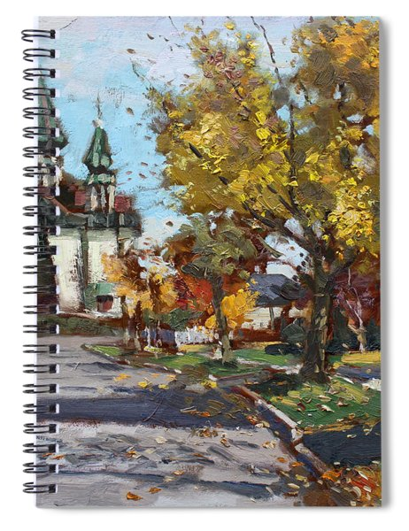St. Marys Ukrainian Catholic Church Spiral Notebook