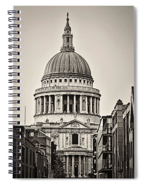 St Pauls London Spiral Notebook