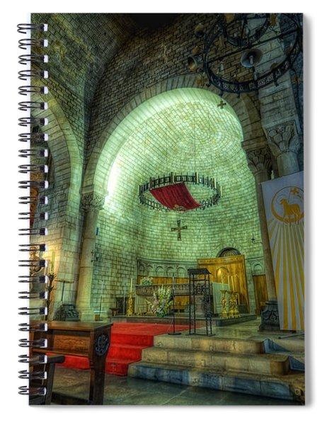 St Pere De Puelles Church - Barcelona Spiral Notebook