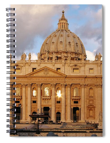 St. Peters Basilica Spiral Notebook
