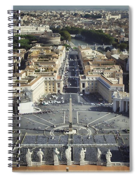 St Peter's Square Spiral Notebook