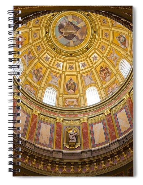 St. Stephen's Basilica Ceiling Spiral Notebook