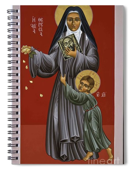 St. Therese Of Lisieux Doctor Of The Church 043 Spiral Notebook