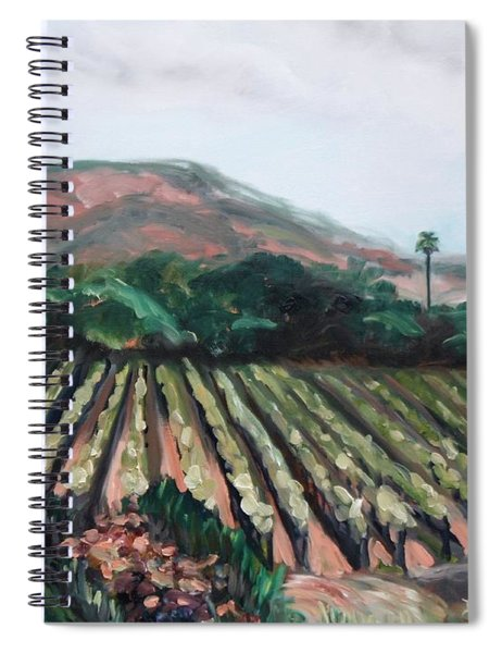 Stag's Leap Vineyard Spiral Notebook